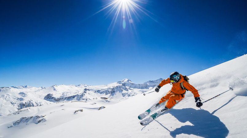Winter Resorts in the Alps