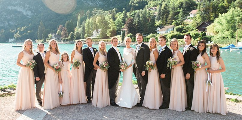 Lake Annecy Weddings