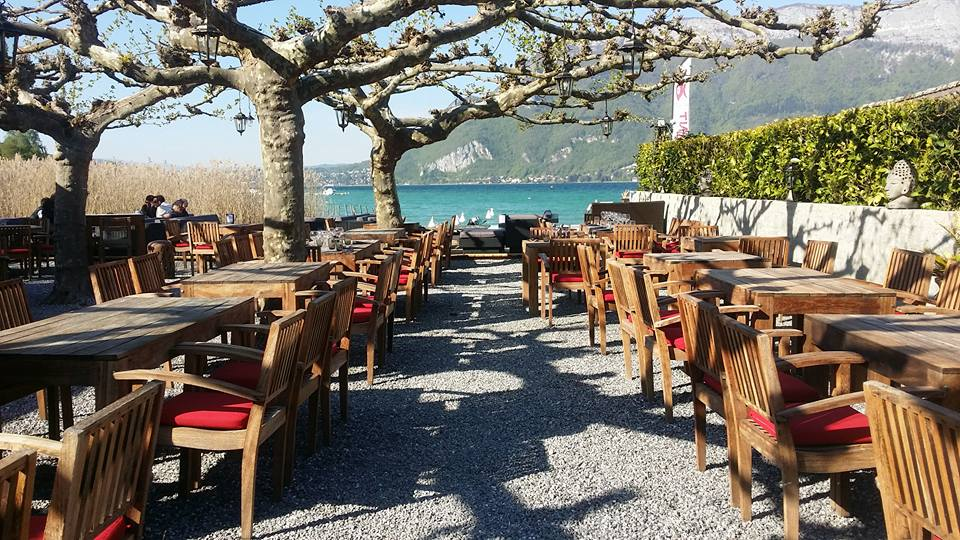 lake annecy O'Poisson Rouge Restaurant