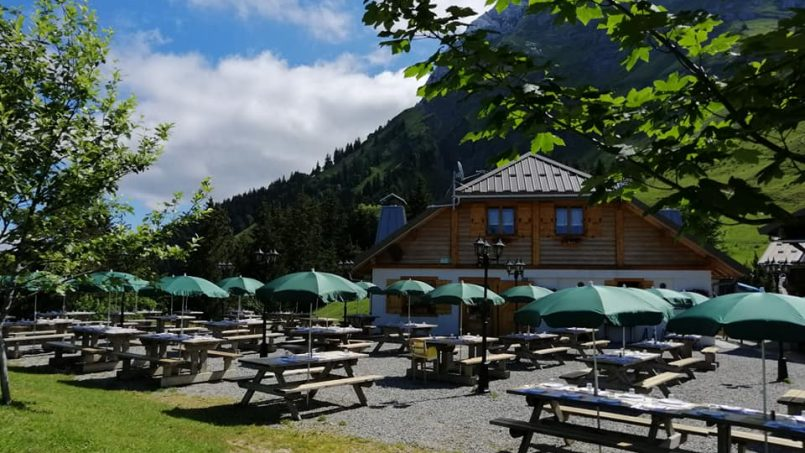 The Story of Le Chalet de l'Aulp Restaurant