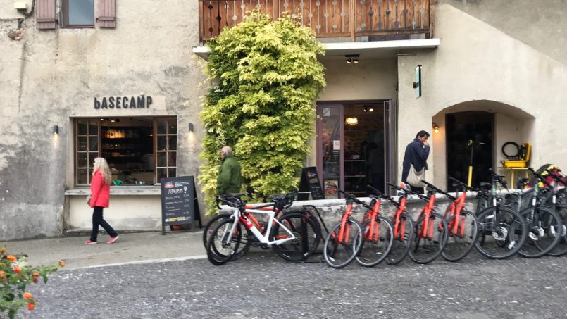 Basecamp Talloires Bike Hire Awaits You!