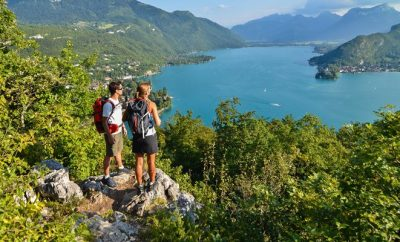 Hiking in Annecy